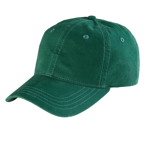 Womens Washed Ball Cap With Adjsutable Leather Back (CTH4153)