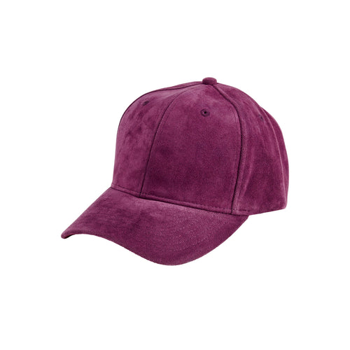 Women's faux suede ball cap (CTH8169)
