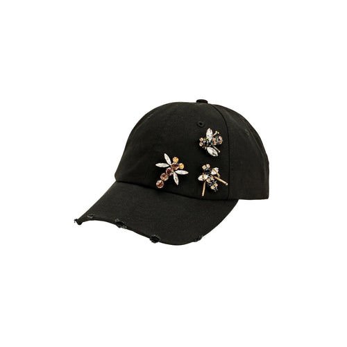 Women's Jeweled Bug Cap (CTH8273)