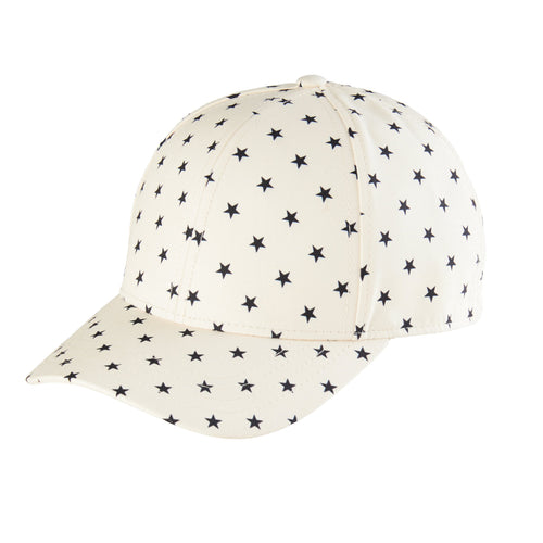 Kids 3-7 Years Star Ball Cap With Adjustable Back (CTK4145)