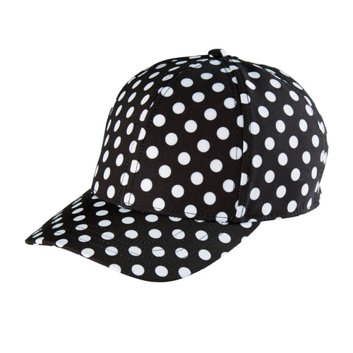 Kids 3-7 Years Polka Dot Ball Cap With Adjustable Back (CTK4149)