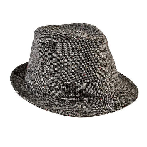 Kids Tweed Fedora (CTK4198)
