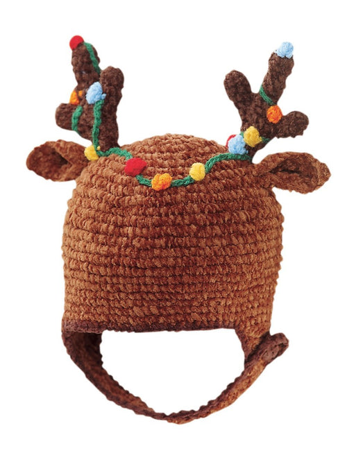 Toddler Crochet Reindeer Hat (DL2362)