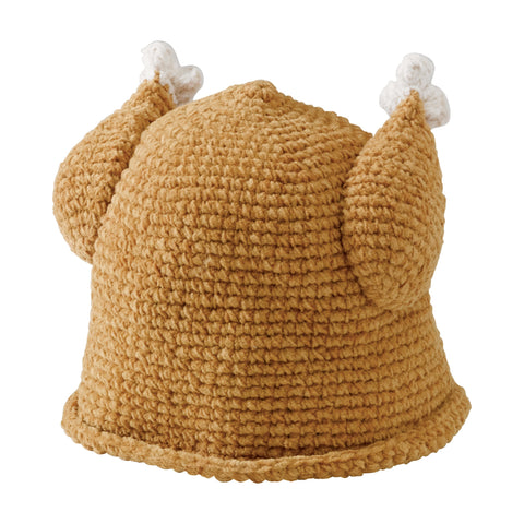 Kids Knit Sleeping Owl Beanie (KNK3252)
