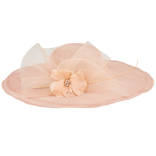 Women's Round Crown Double Layer Brim Hat (DRS1053)