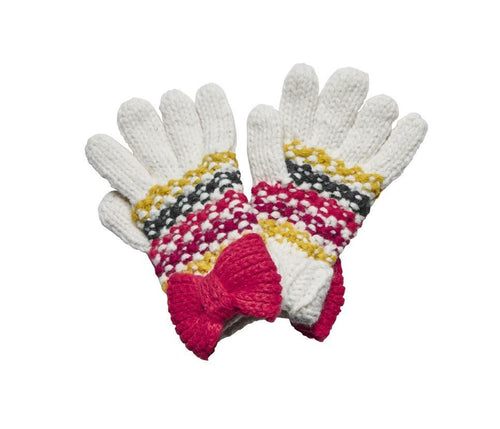 Toddler Striped Bow Gloves (KDG5021)