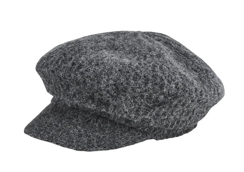 Wool Color Block Cloche With Trim (WFH3546)