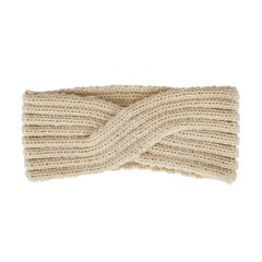 Womens Overlap Knit Headband (KNH3444)