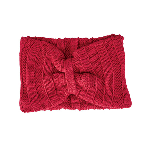 Womens Oversized Knit Headband