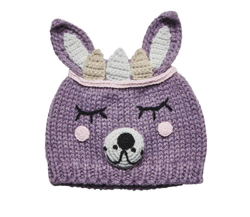 TODDLER SLEEPING BUNNY BEANIE (KNK2019)