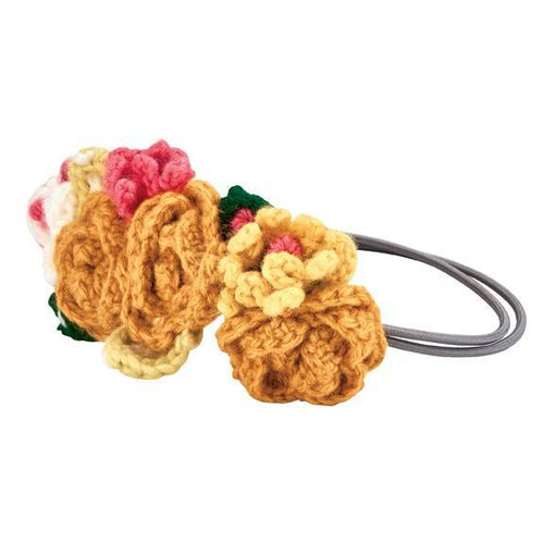 Infant Crochet Floral Headband (KNK3160)