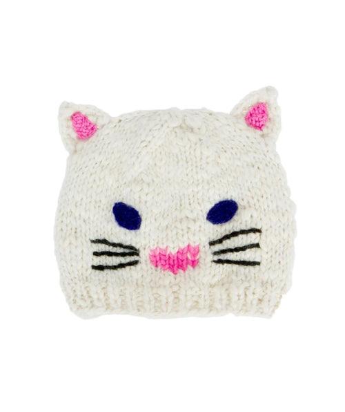 Kids Cat Ear Knit Beanie (KNK3342)