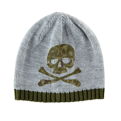 Toddler Knit Skull Beanie (KNK3447)