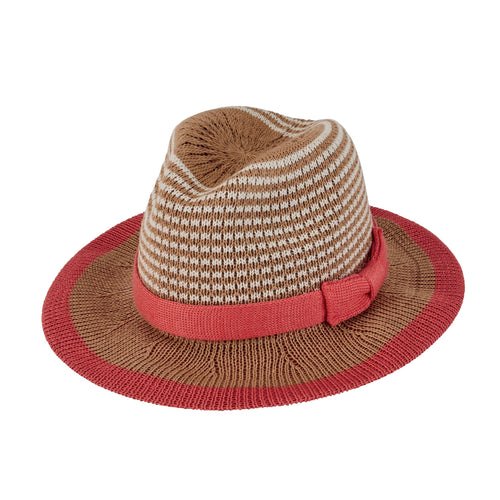 Kids Knitted Fedora (KNK3475)