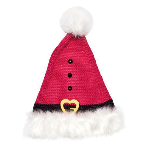 Kids' Knit Santa Hat (KNK3622)