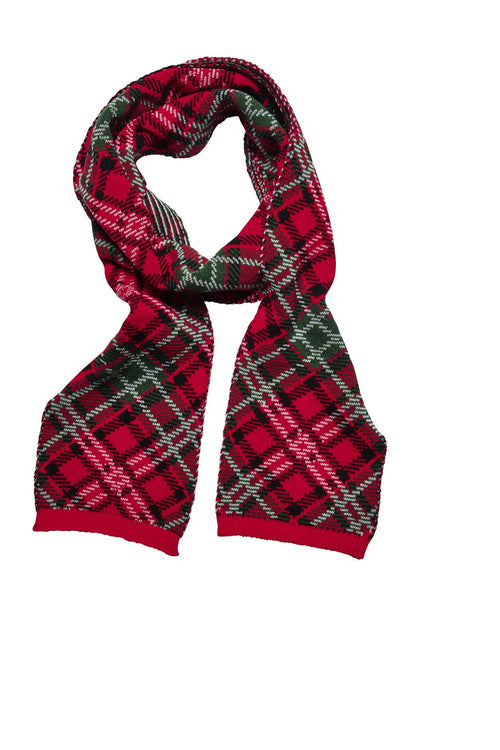 Women's Plaid Scarf (KNS5003)