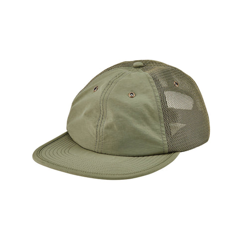 Men's Cut & Sew Polyester & Mesh Ball Cap- FS