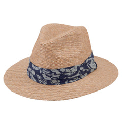 Mens Finely Woven Paper Fedora (PBF7303)
