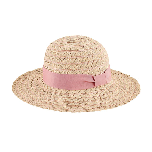 Women's Stripe Braid Sun Hat (PBM3022)
