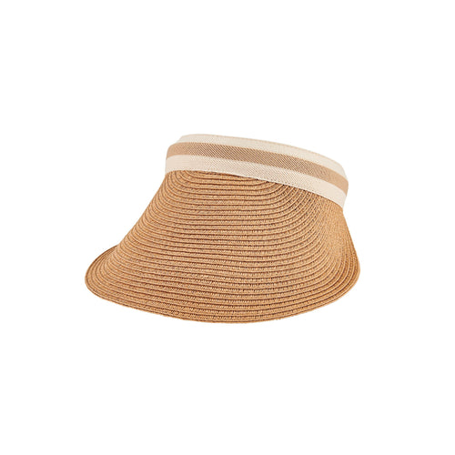Women's Stripe Clip On Visor (PBV021)