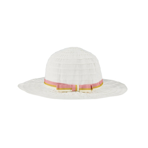 Infant Ribbon Sun Hat With Bow (RBK3092)