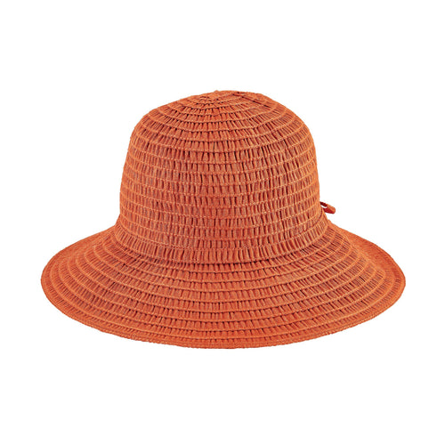 Women's Shimmery Ribbon Sun Hat (RBM4788)