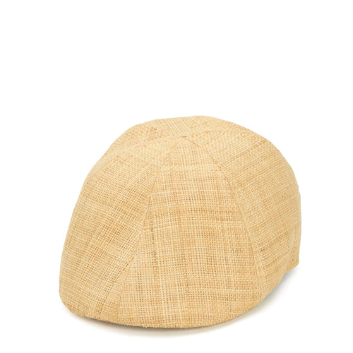 Men's Raffia Straw Driver With Stretch Band (RHD606OSNAT)