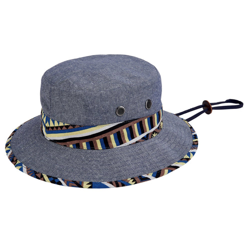 Mens Chambray Bucket (SDH2075)