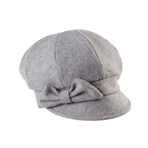 Women's Wool Cap With Bow (SDH3404)