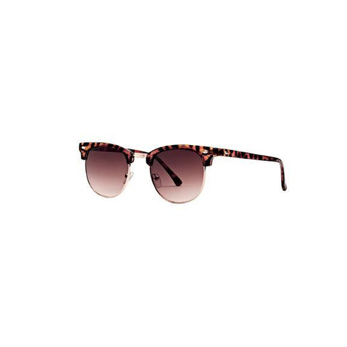 Men's Dark Tortoise Matte Frame Sunglasses (SWG0007)
