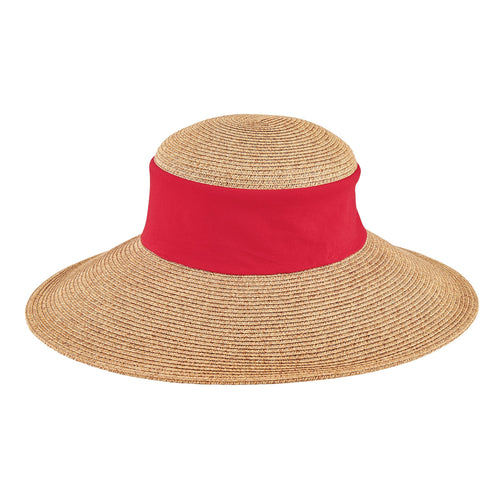 Women's Collapsable Crown Sun Hat (UBL6823)