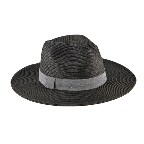 Women's Wheat Straw Palm Fedora (WSH1224)