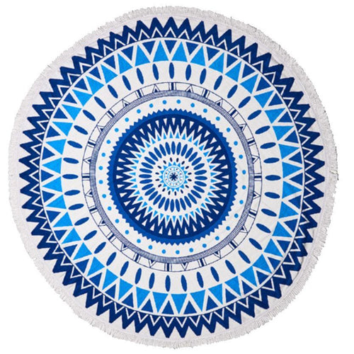 Apparel - Round Cotton Beach Towels