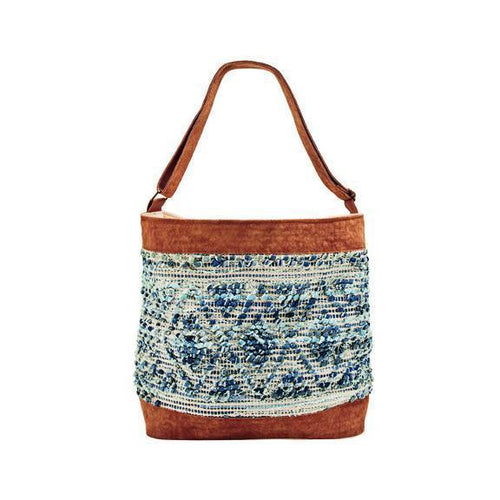WOMENS CANVAS SHOULDER BAG (BSB1756O)