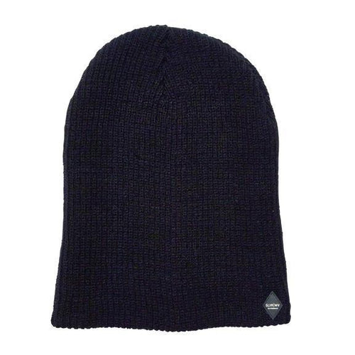 Double Layer Extra Long Slouchy Beanie (SLW3596)
