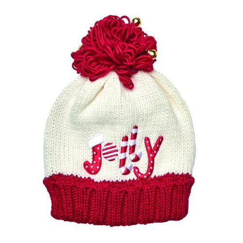 Jolly knit beanie with bells (KNH3584)