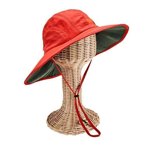 WOMENS WIDE BRIM PALM UNDER BRIM PRINT (OCM4707)