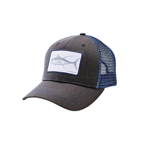 UNISEX FISH PATCH TRUCKER HAT (SLW3598)