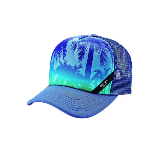Unisex Sublimated Ombre Palm Trucker Cap (SLW3607)