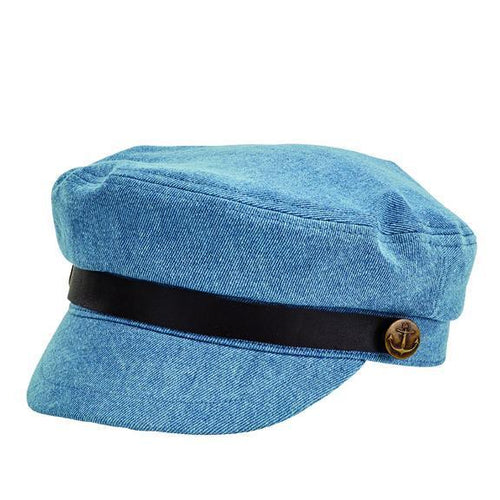 CAP - WOMENS FISHERMANS DENIM CAP