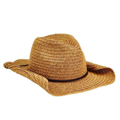 COWBOYS - WOMENS PAPERBRAID COWBOY W/ DOUBLE BRAID TRIM