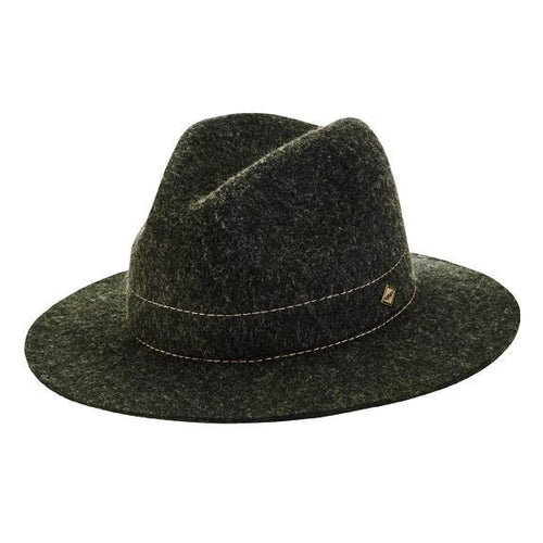 Men's stiff mixed wool fedora (SDH3317)