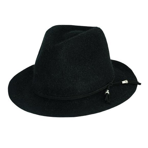 Women's Wool Blend Knit Fedora
