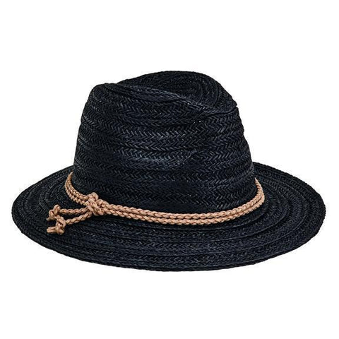 Women's Paperbraid Visor With Chiffon Bow (PBV020)