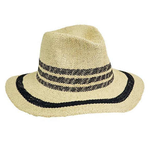 Women's Ultrabraided Fedora with Knotted Grosgrain (UBL6494)