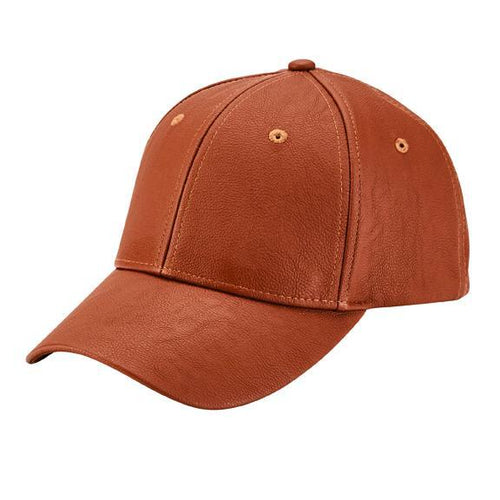 Men's Faux Leather Baseball Cap (CTH1500)