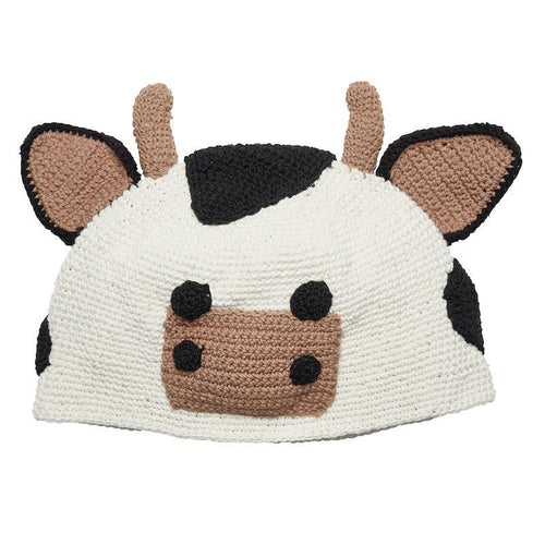 Hats - 1-2 Toddler Cow Beanie
