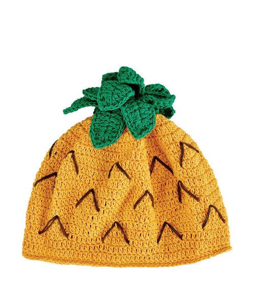 Hats - 1-2 Toddler Crochet Pineapple Beanie