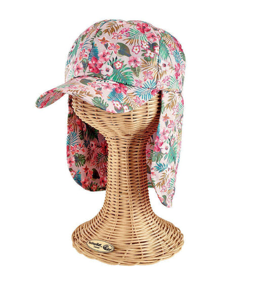 Hats - 3-7 Kid All Over Print Cap W/ Neck Cover