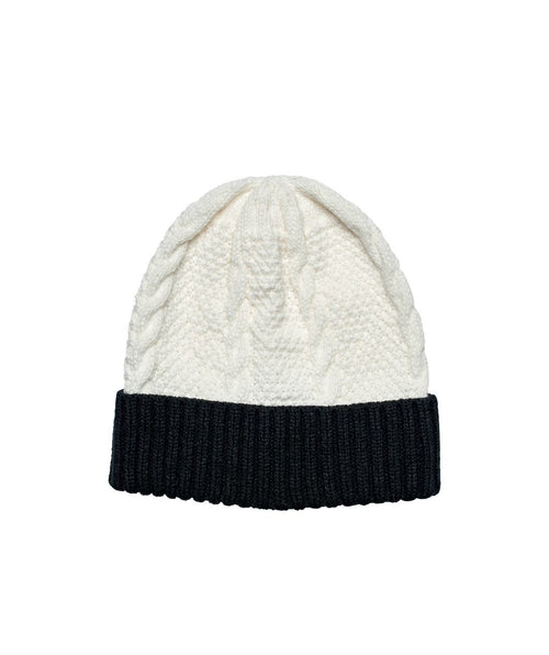 Hats - Cable Knit Beanie With Cuff